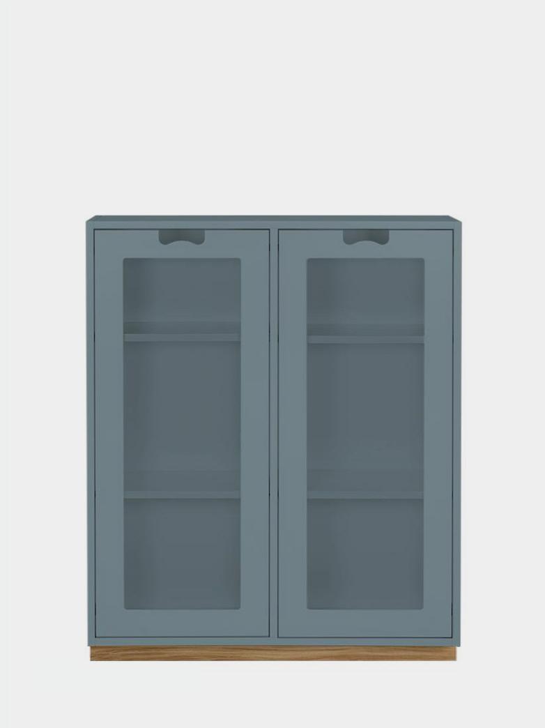 Snö E - Glass Doors - Nordic Blue