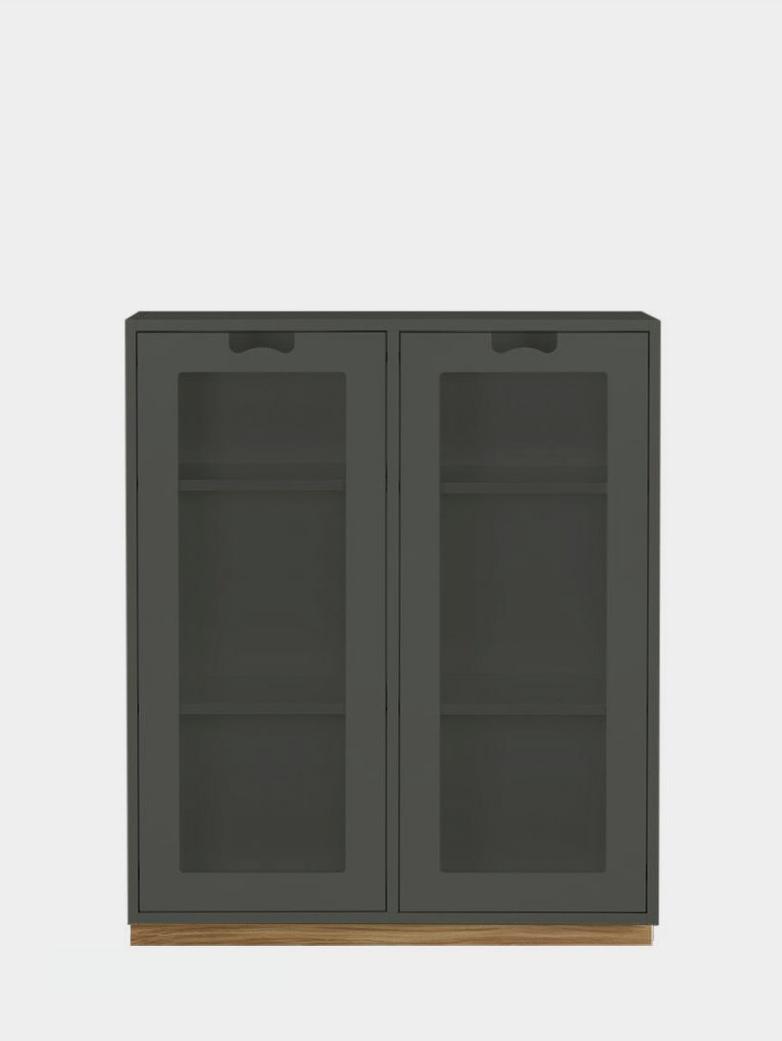 Snö E - Glass Doors - Green Khaki