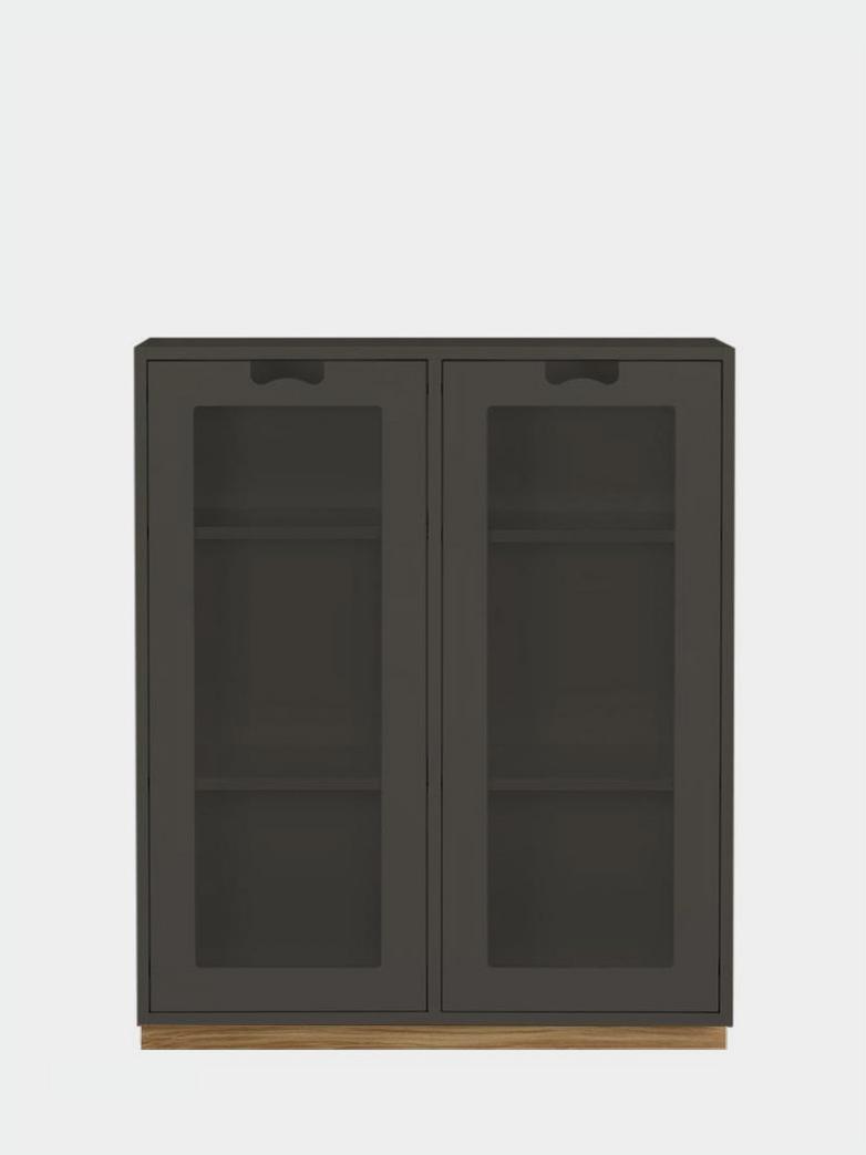 Snö E - Glass Doors - Taupe