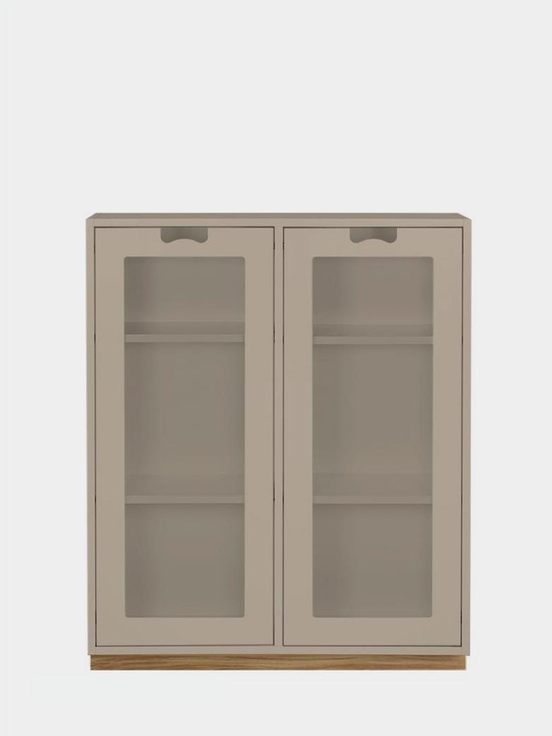Snö E - Glass Doors - Dark Sand
