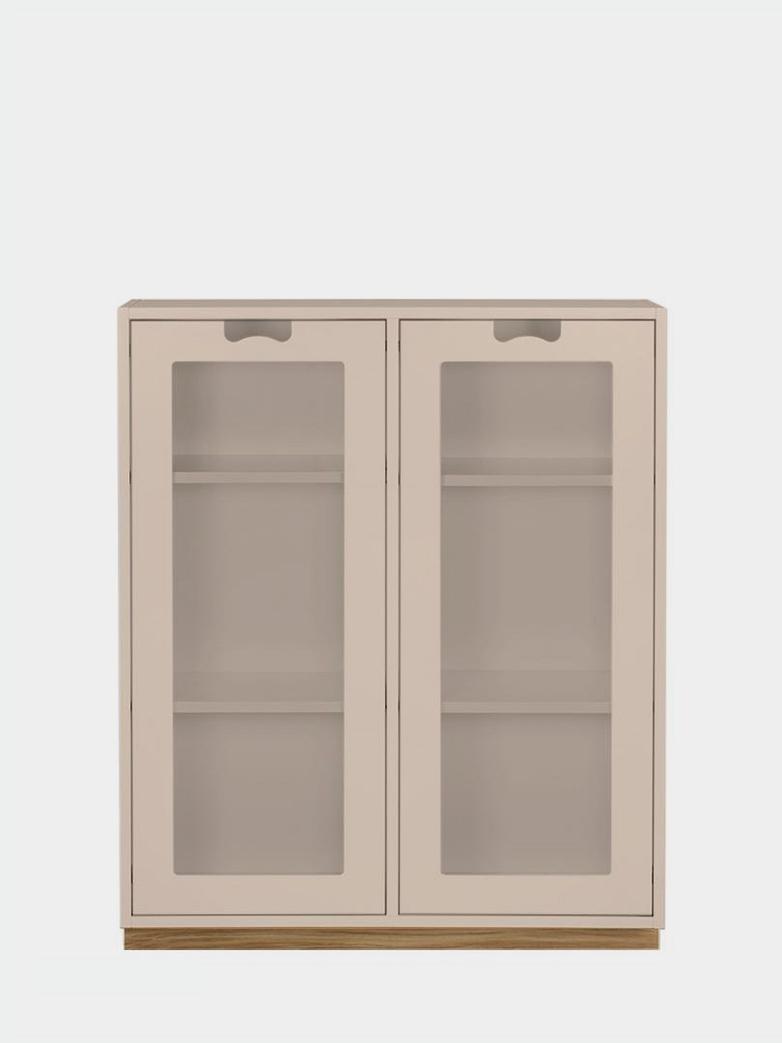 Snö E - Glass Doors - Rose