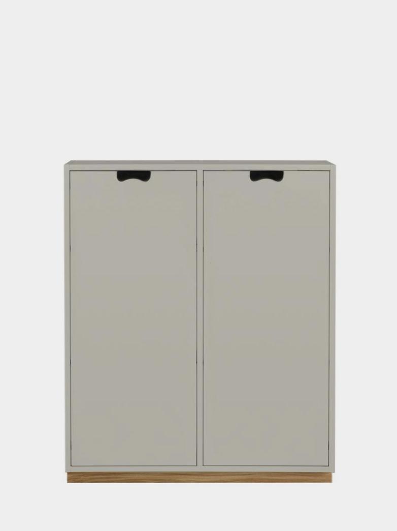 Snö E - Covered Doors - Light Grey
