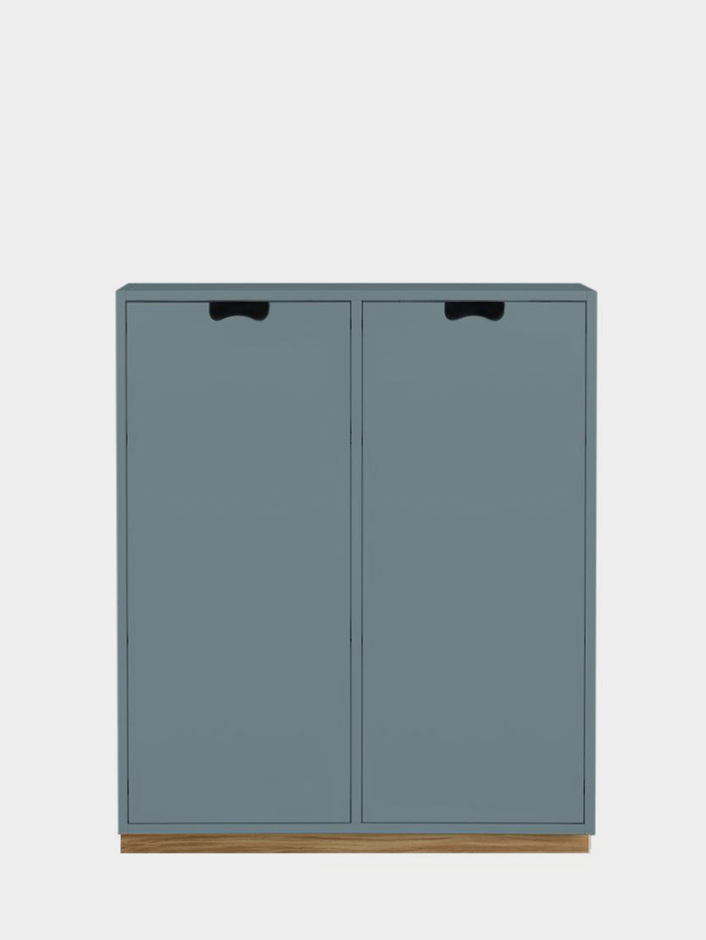 Snö E - Covered Doors - Nordic Blue