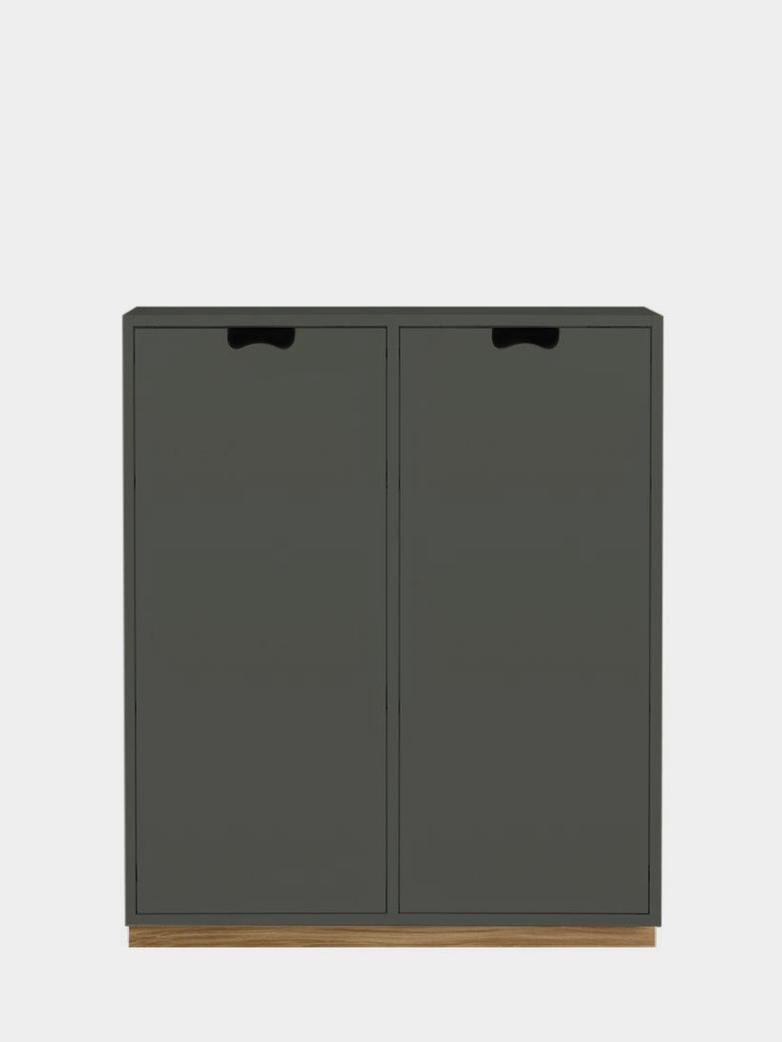 Snö E - Covered Doors - Green Khaki