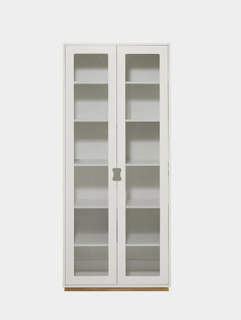 Snö F - Glass Doors - White