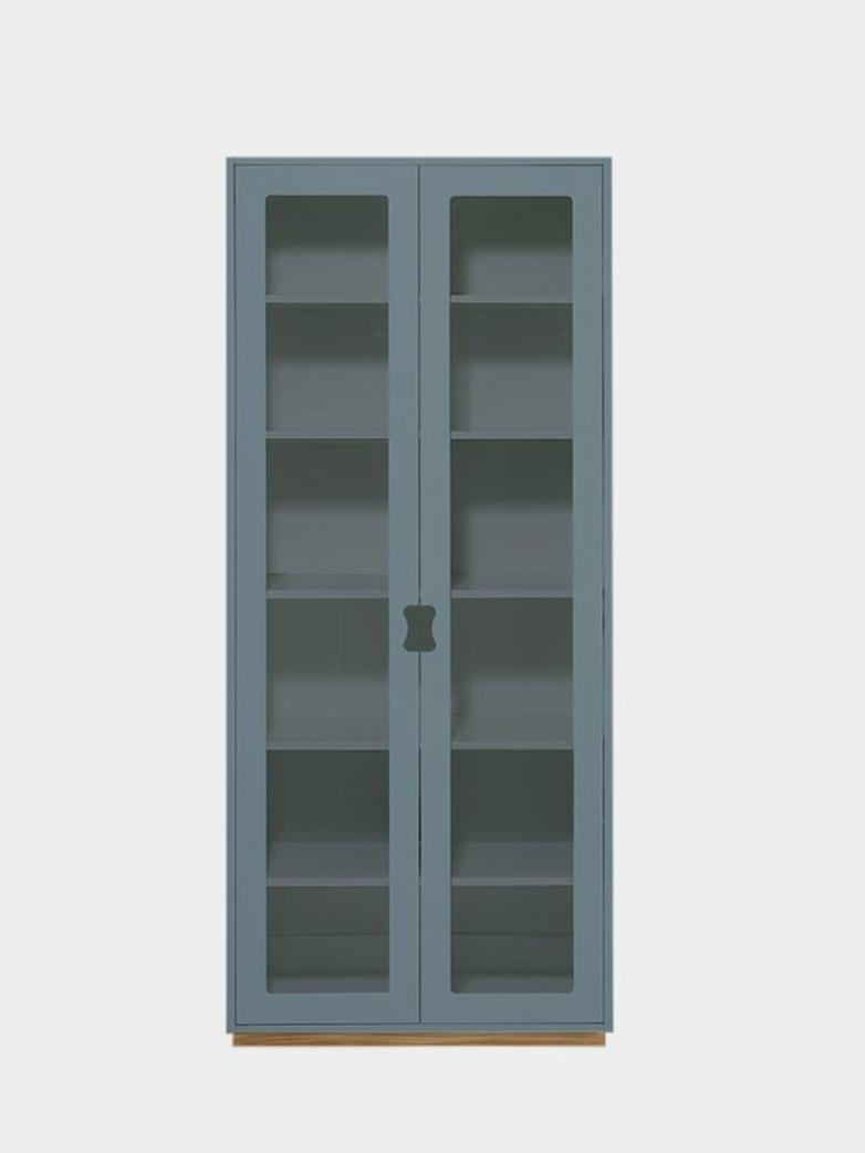 Snö F - Glass Doors - Nordic Blue