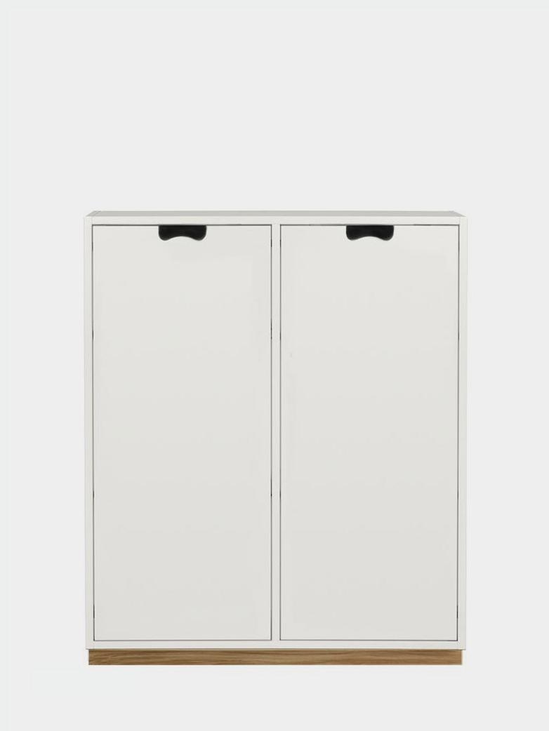 Snö E - Covered Doors - White