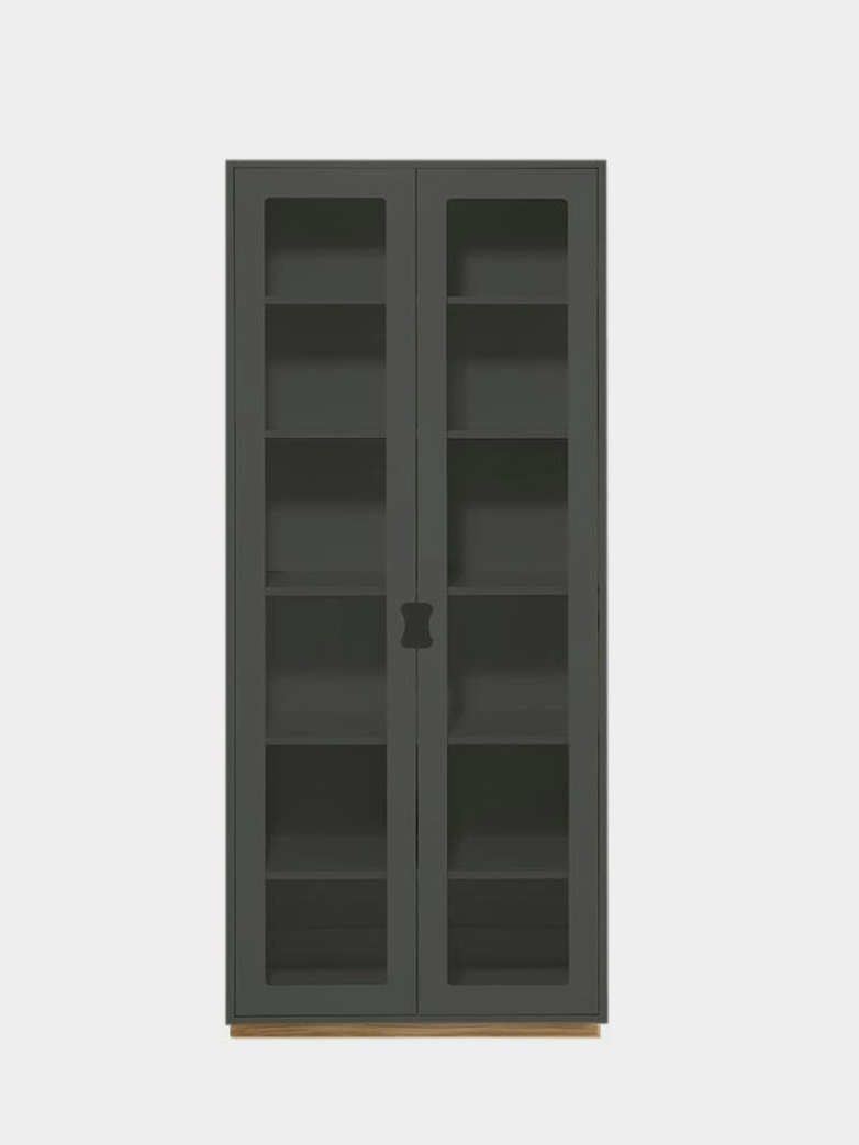 Snö F - Glass Doors - Green Khaki