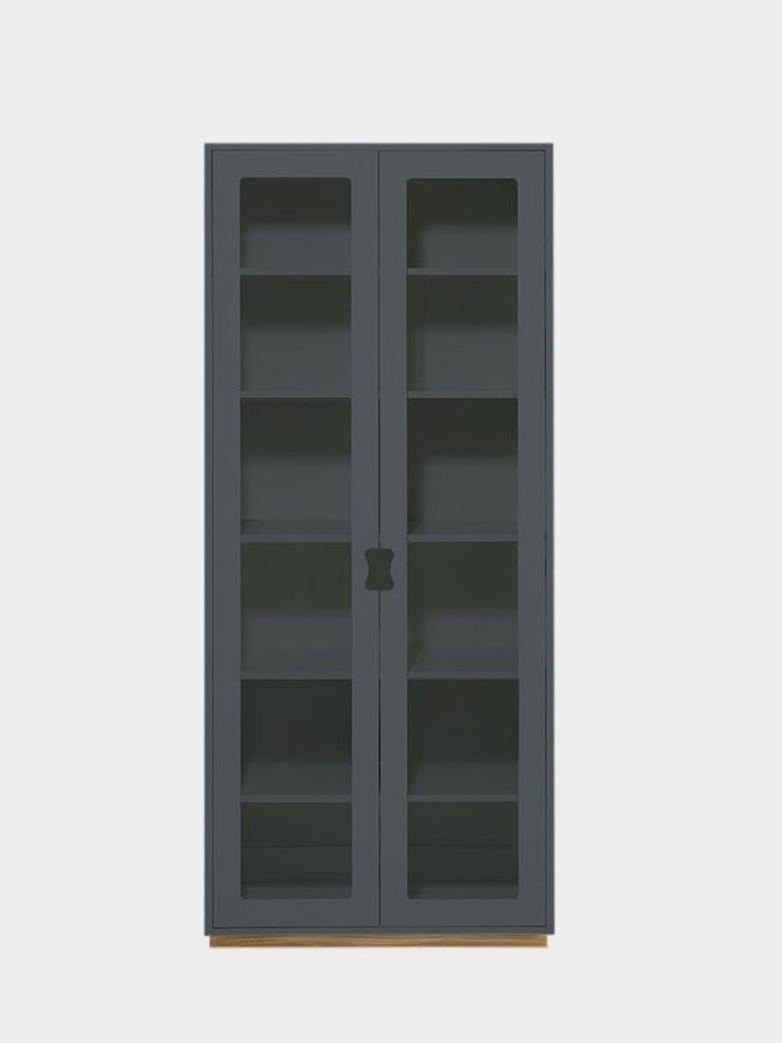 Snö F - Glass Doors - Storm Grey