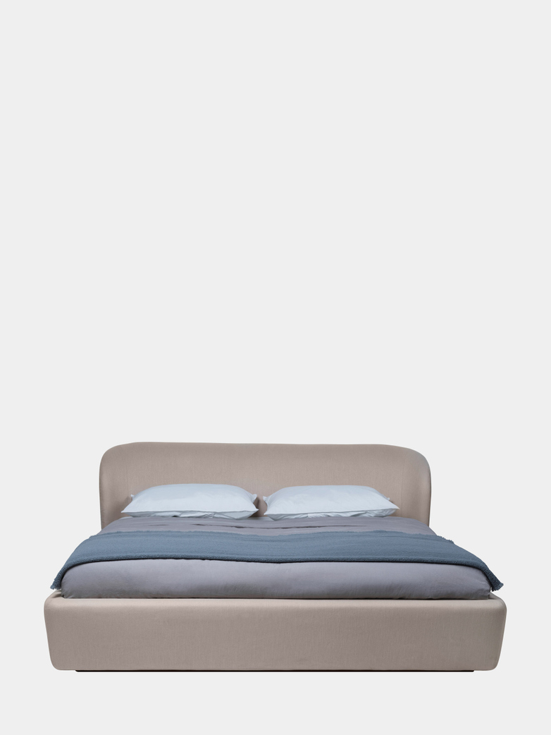 Stay Bed Low Back - 160 x 200 cm - Sinequanon Crema