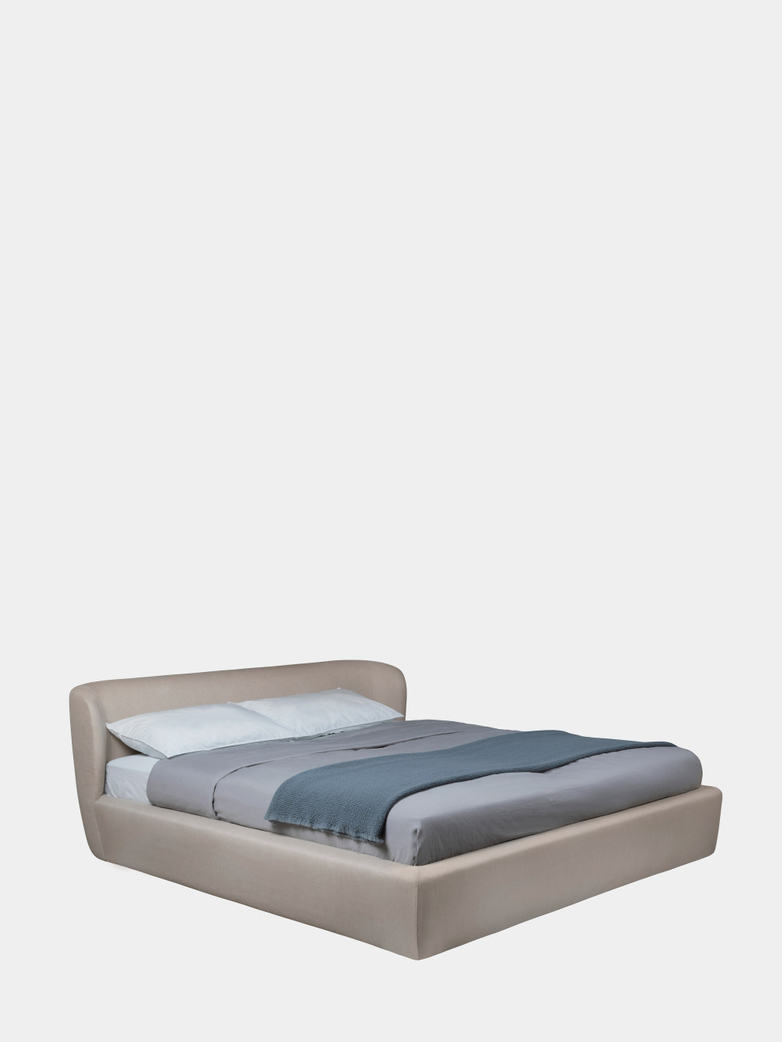 Stay Bed Low Back - 180 x 200 cm - Sinequanon Crema