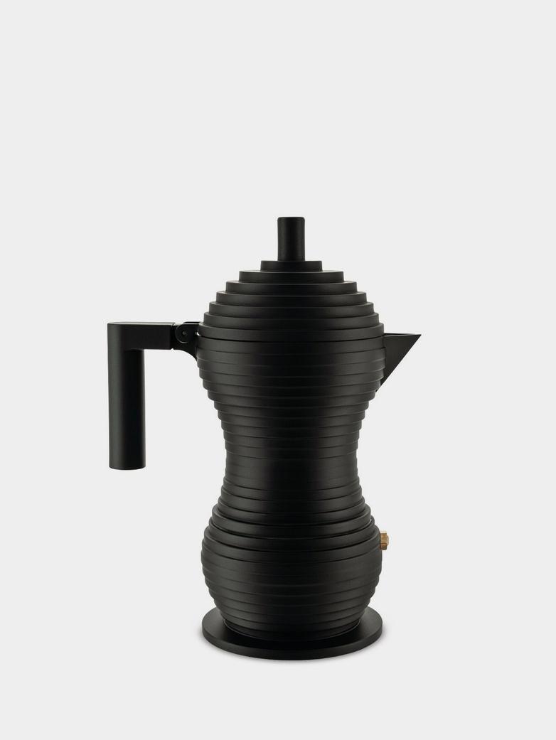 Espresso Coffee Maker Pulcina 6 Cups – Black