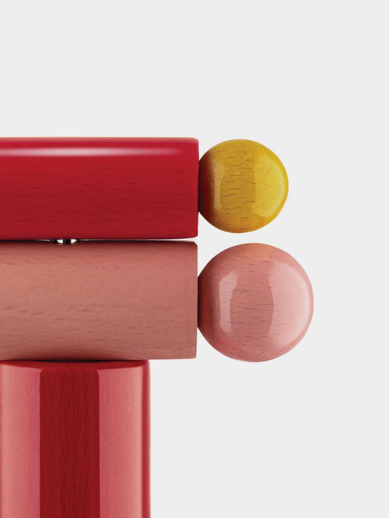 Corkscrew – Red/Pink