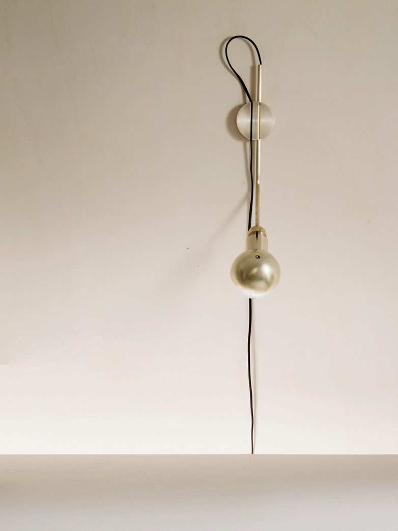 Wall Lamp Short Brass
