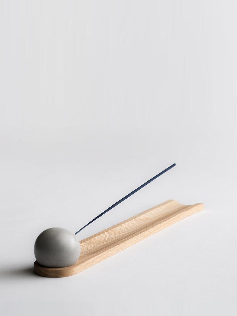 Elysian Incense Burner - White Oak