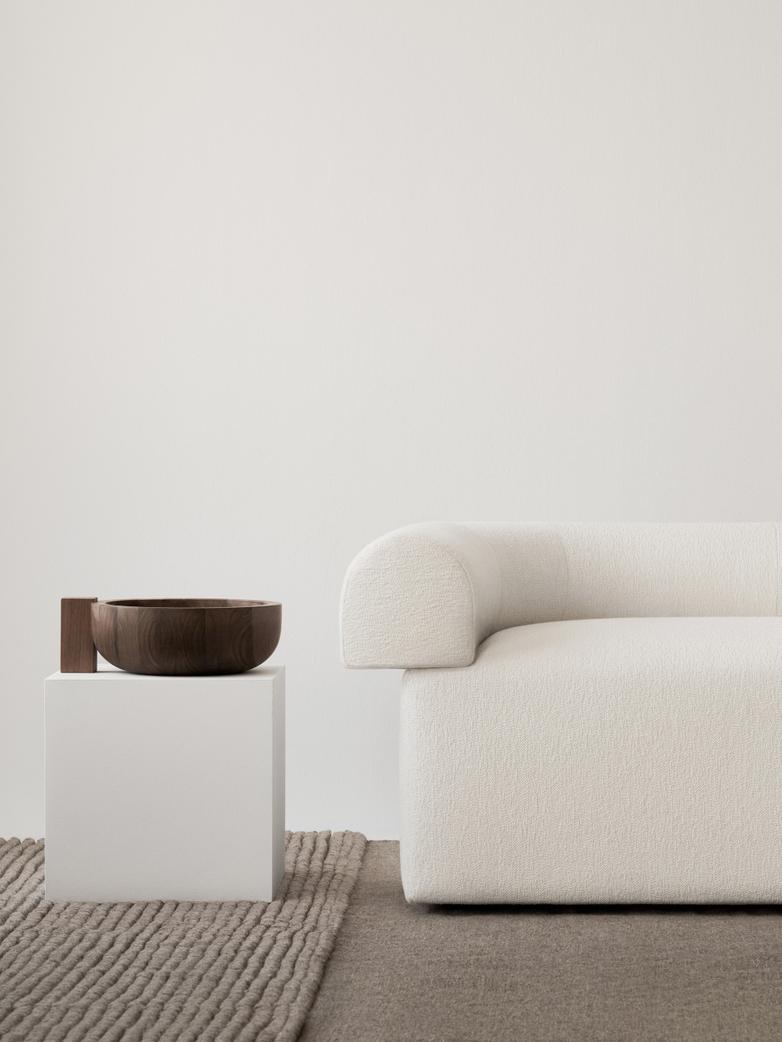 LA Single Striped - Sand Melange - 250 x 350 cm