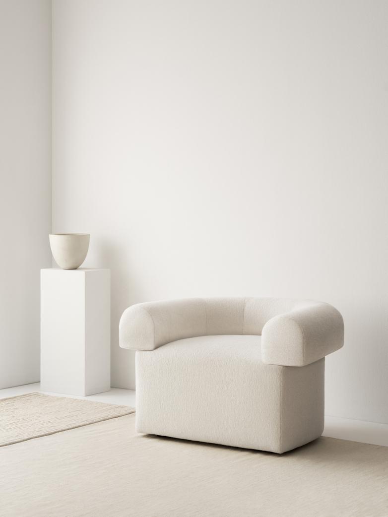 LA Single Striped - Bone White - 250 x 350 cm