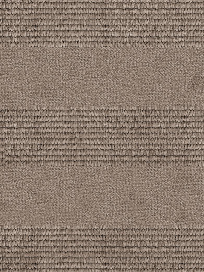 LA Striped - Wool Sand - 250 x 350 cm