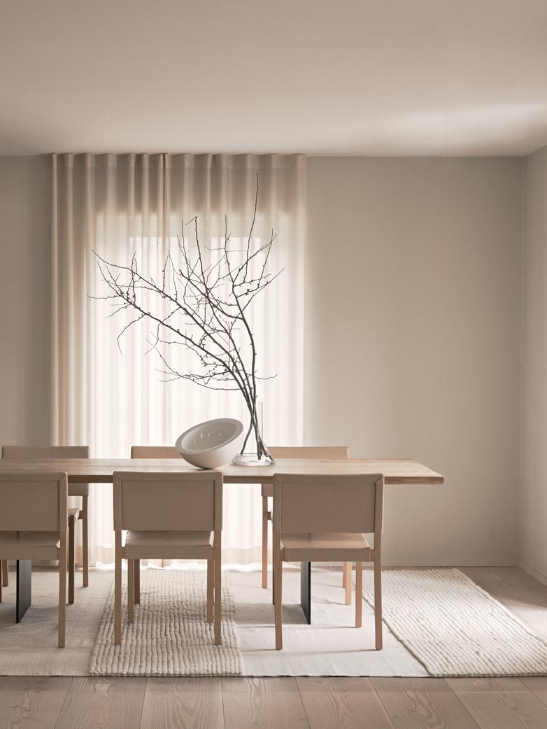 LA Striped - Wool Bone White - 250 x 350 cm