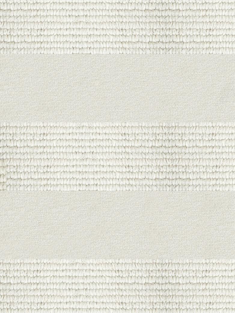 LA Striped - Wool Bone White