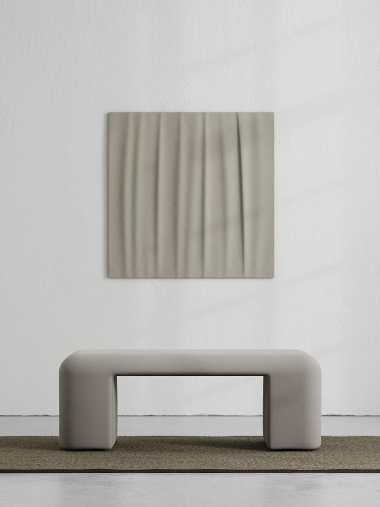 LA Bench - Cold Brown - 120 cm