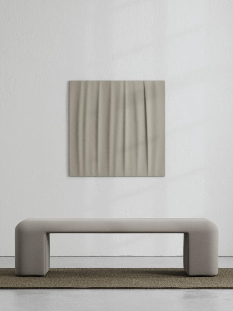 LA Bench - Cold Brown - 160 cm
