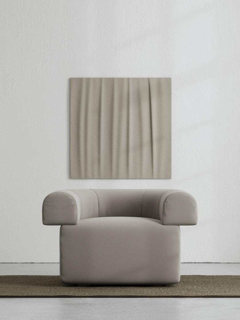 LA Armchair - Cold Brown