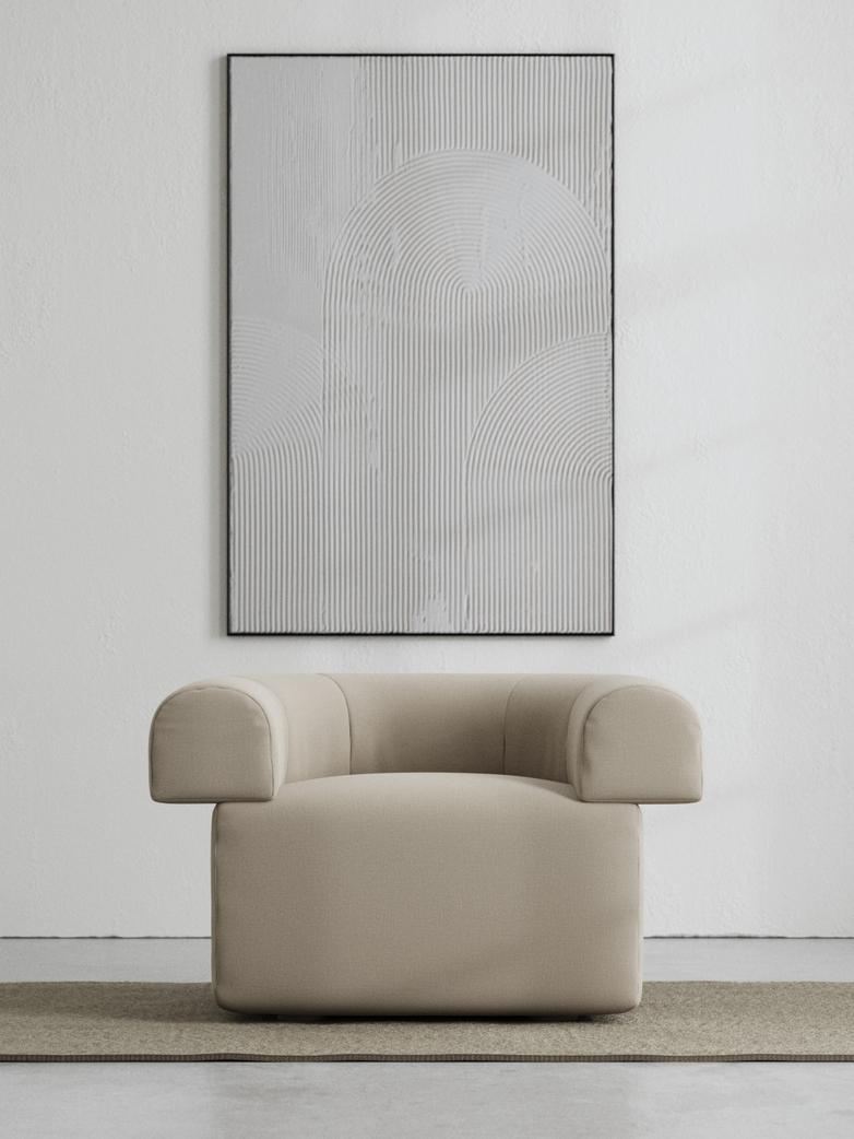 LA Armchair - Warm Clay