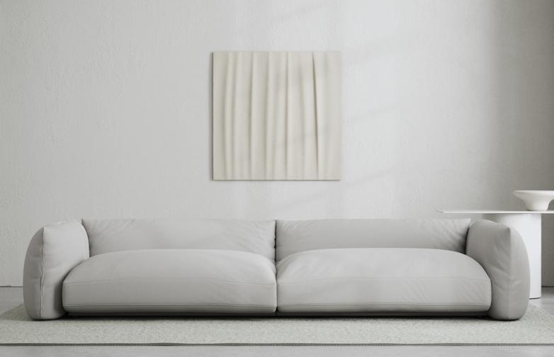 LA Sofa - Cold Sand - 290 cm