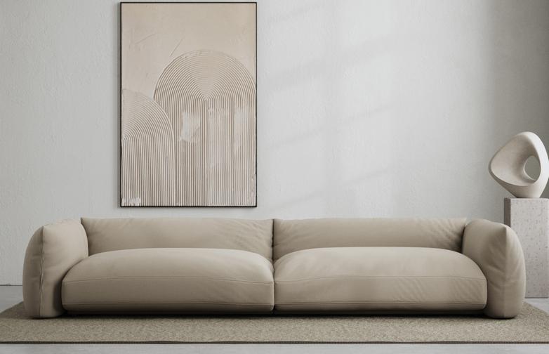 LA Sofa - Warm Clay - 290 cm