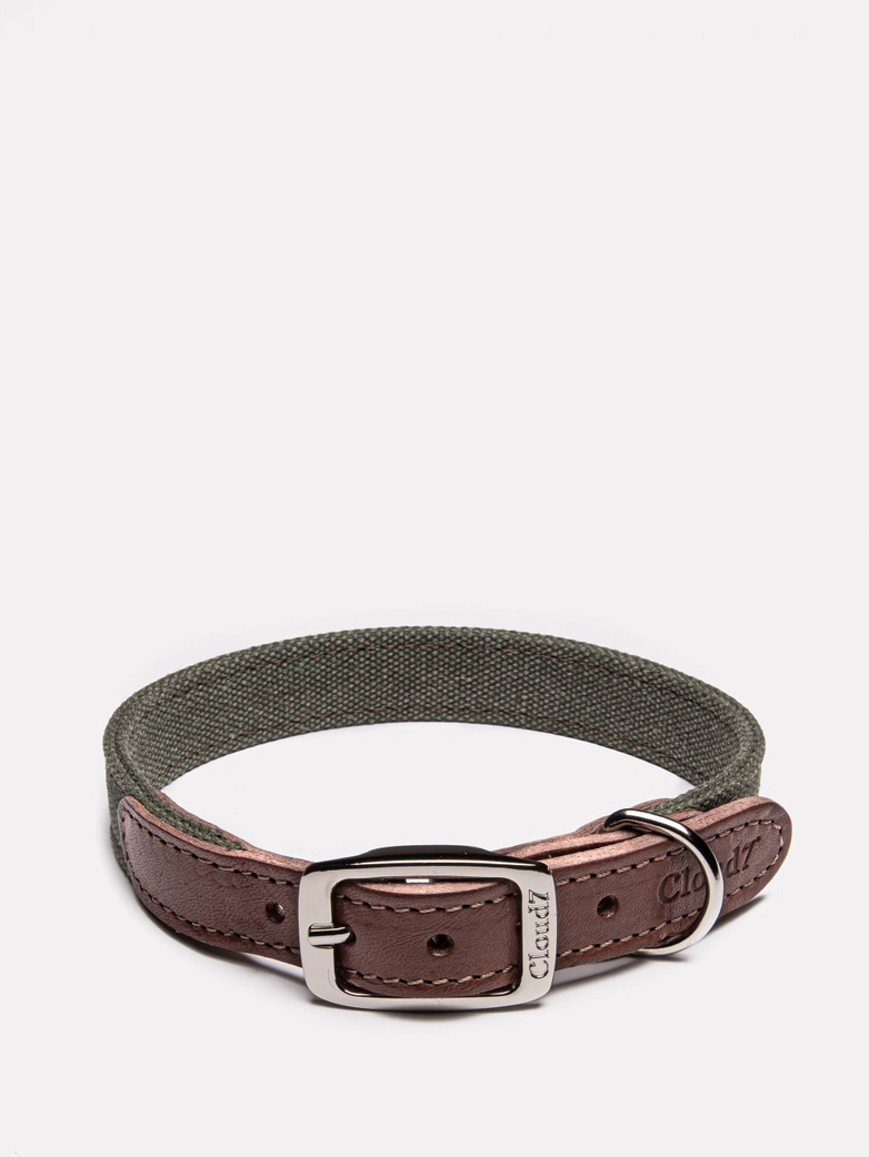 Collar Tivoli - Canvas/Leather - Olive
