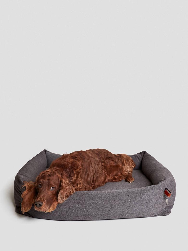 Dogbed Sleepy Deluxe - Tweed Taupe