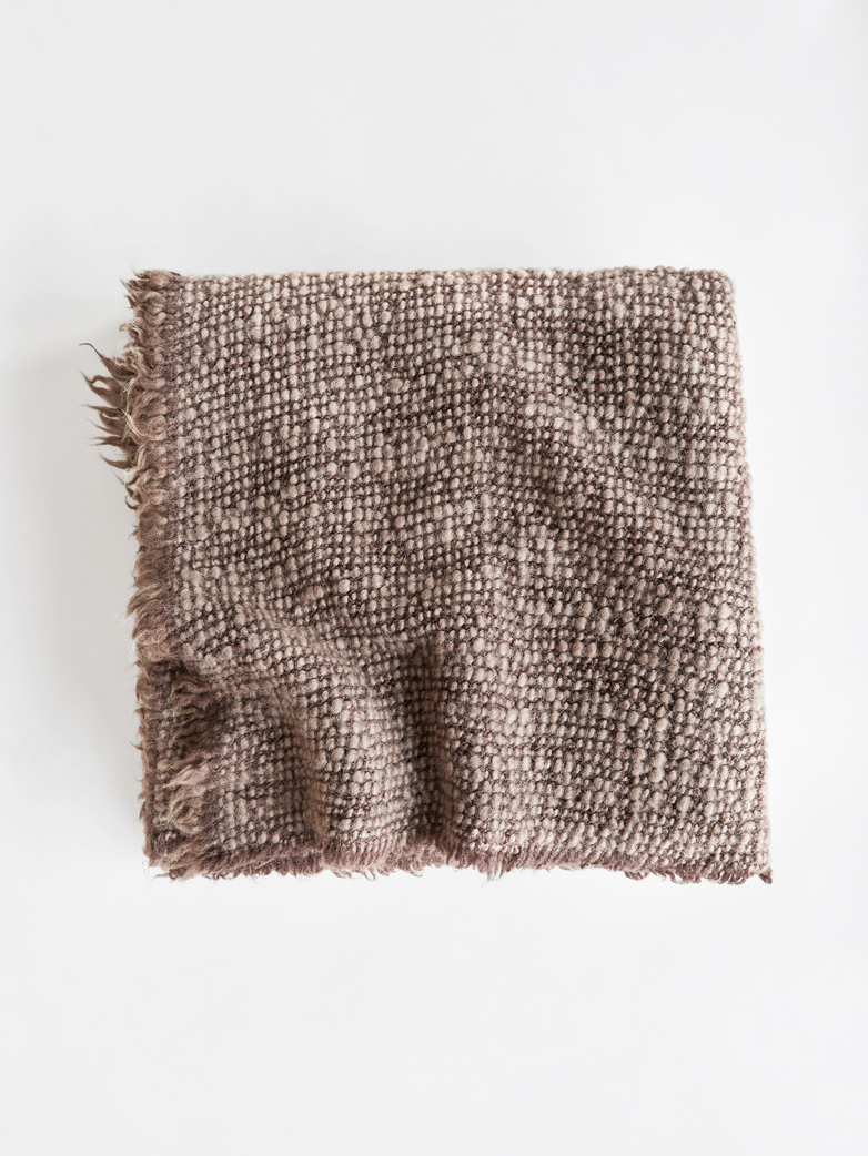 Wooly Throw – Cacao