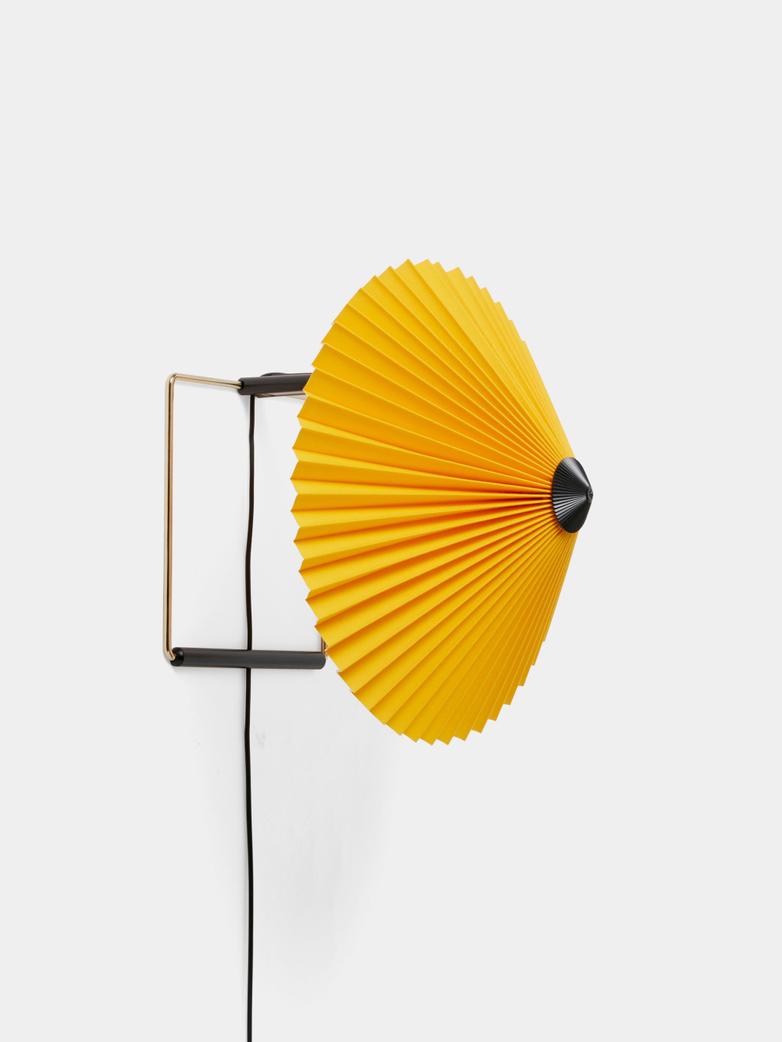 Matin Wall Lamp 30 cm - Yellow