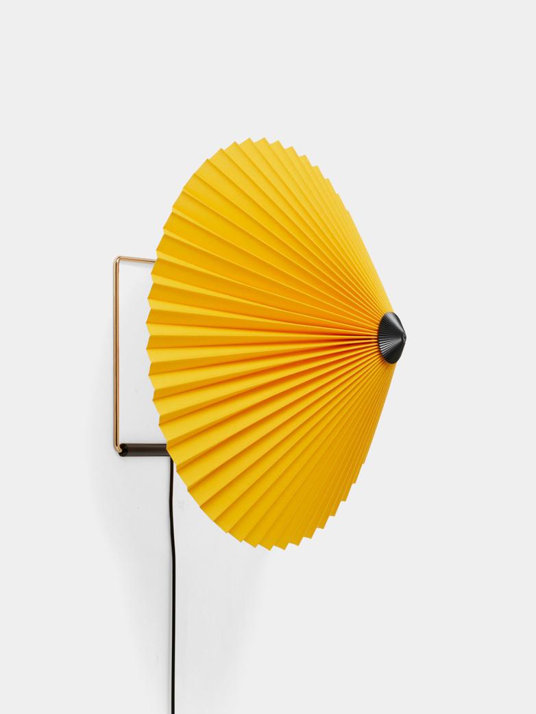 Matin Wall Lamp 38 cm - Yellow
