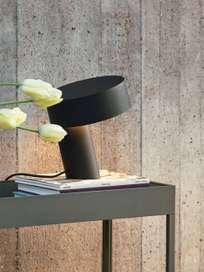 Slant Table Lamp - Soft Balck