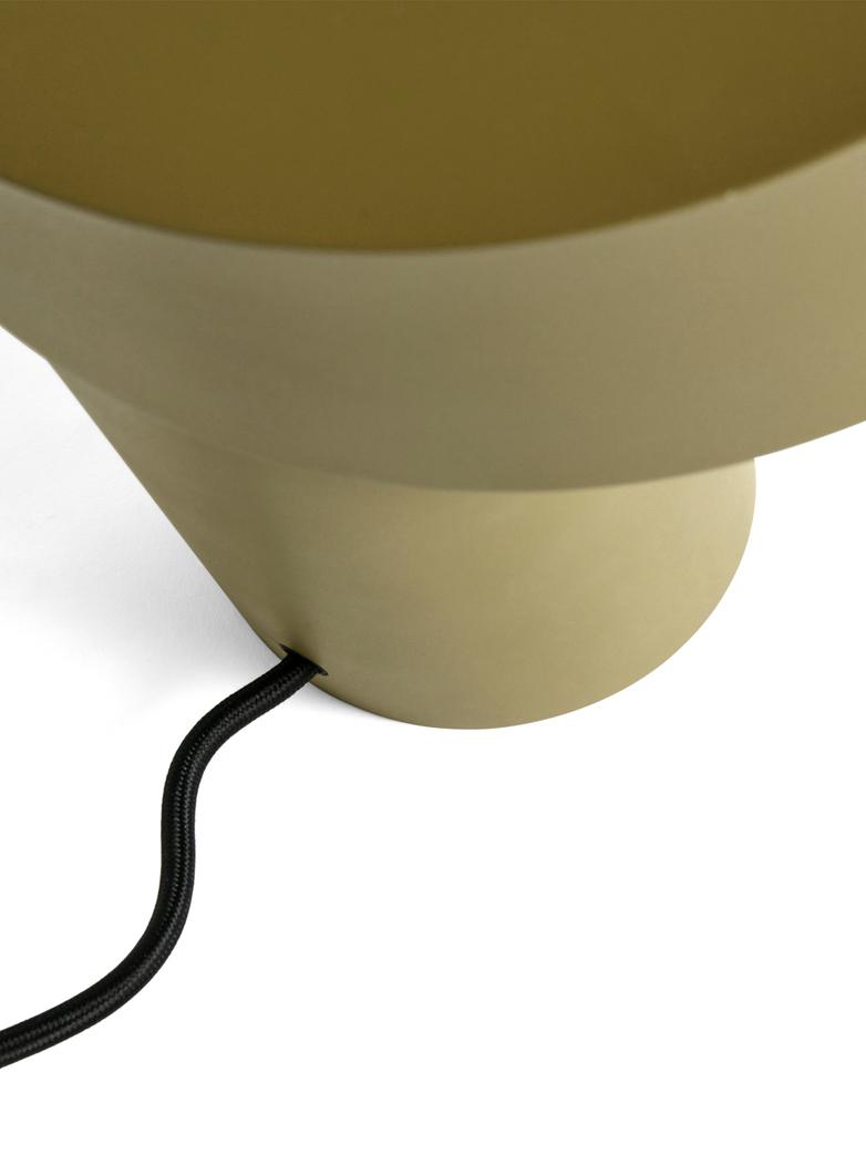 Slant Table Lamp - Khaki Green