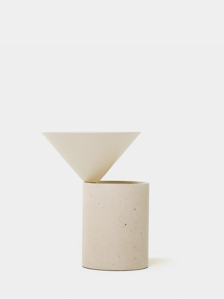 Ataija Creme Limestone/Bone Gloss