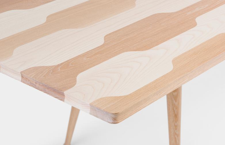 White Oiled Oak/Ash - 200 cm