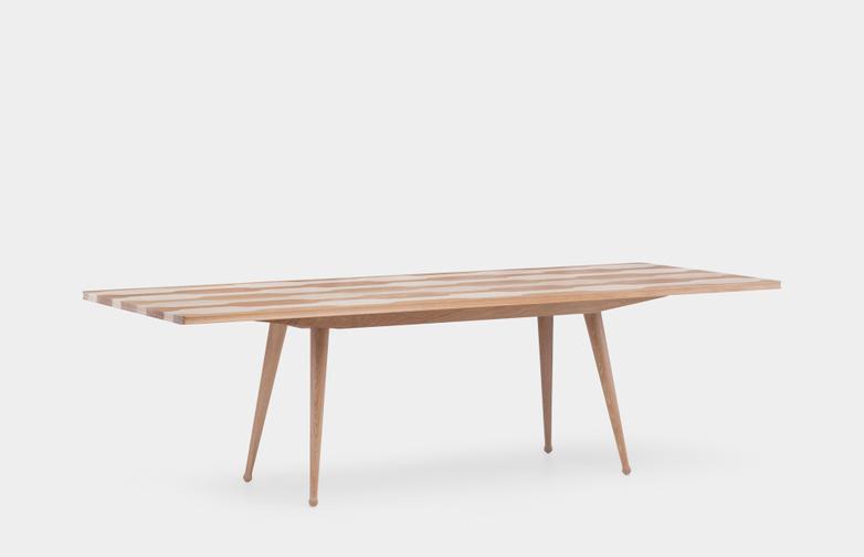 White Oiled Oak/Ash - 254 cm