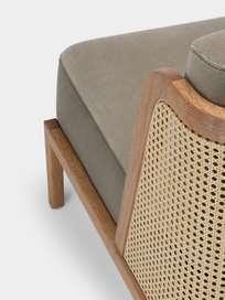 Throne Lounge Chair - Rattan