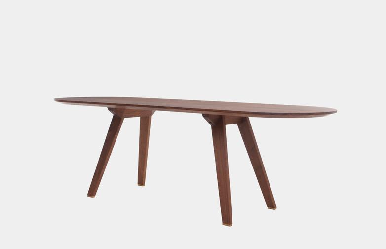 Oiled Walnut - 200 x 75 cm