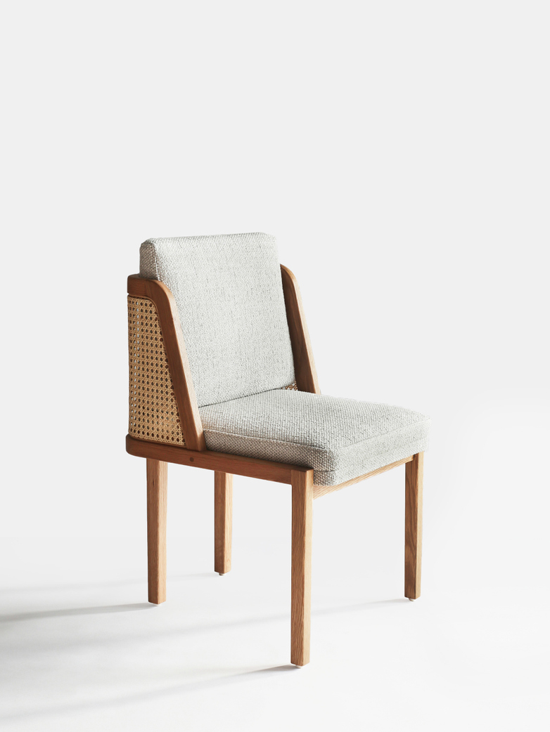 Throne Dining Chair - Rattan