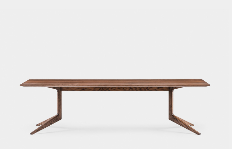 Light Rectangular Table