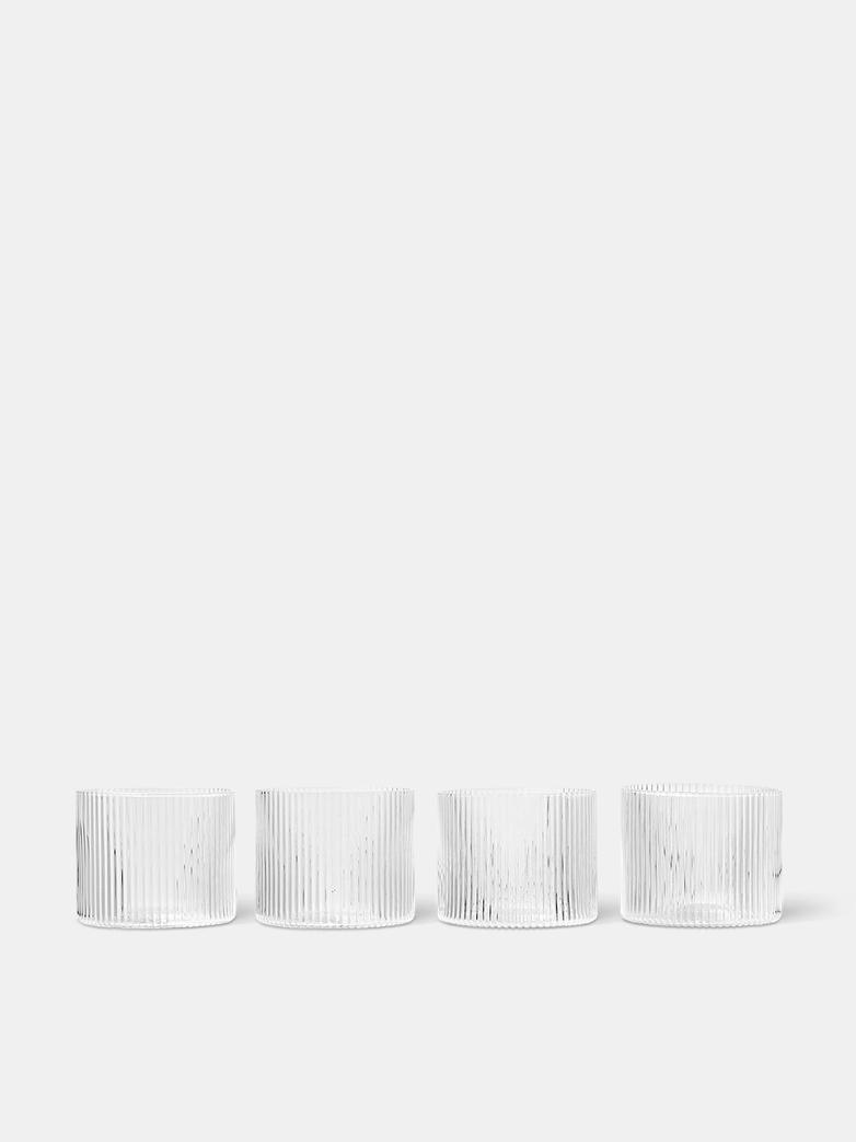 Ripple Low Glasses - Set of 4