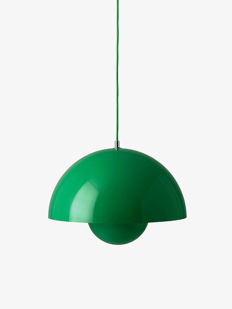 Flowerpot Pendant VP7 – Signal Green