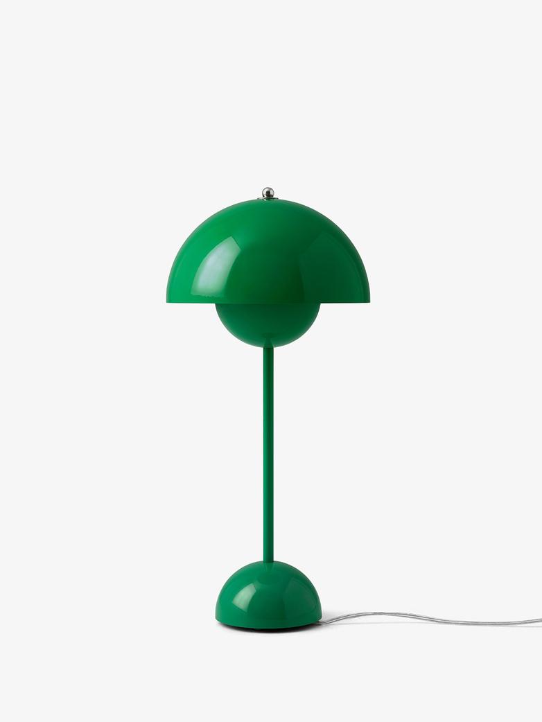 Flowerpot Table lamp VP3 - Signal Green