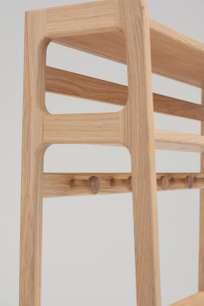 Agnes Hall Stand - Oak