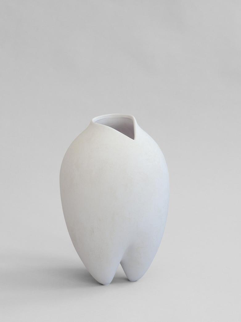 Sumo Vase - White - Slim