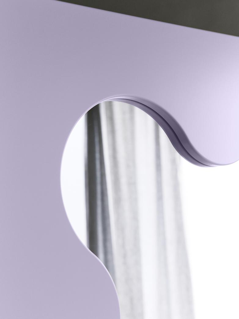 Curvy Mirror Mini - Lilac